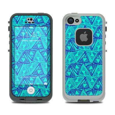 LifeProof iPhone 5S Fre Case Skin - Tribal Beat
