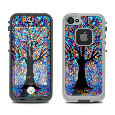 Lifeproof iPhone 5S Fre Case Skin - Tree Carnival