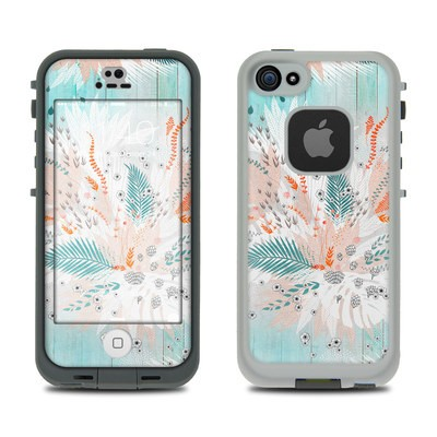 Lifeproof iPhone 5S Fre Case Skin - Tropical Fern