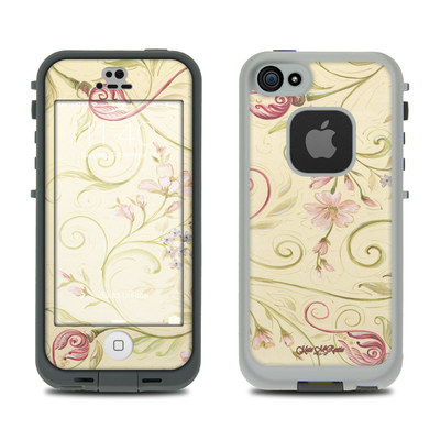 LifeProof iPhone 5S Fre Case Skin - Tulip Scroll