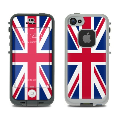 Lifeproof iPhone 5S Fre Case Skin - Union Jack