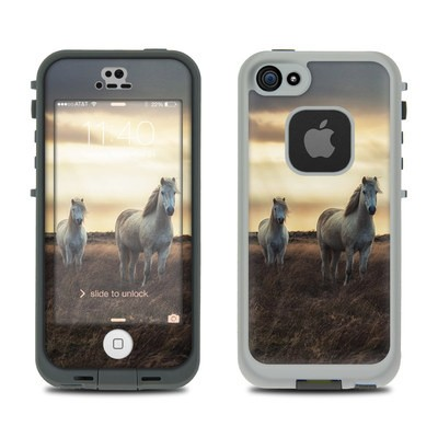 Lifeproof iPhone 5S Fre Case Skin - Hornless Unicorns