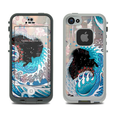 LifeProof iPhone 5S Fre Case Skin - Unstoppabull