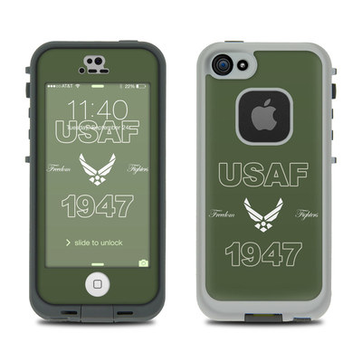 LifeProof iPhone 5S Fre Case Skin - USAF 1947