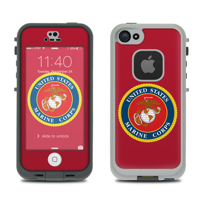 LifeProof iPhone 5S Fre Case Skin - USMC Red
