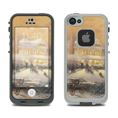 LifeProof iPhone 5S Fre Case Skin - Victorian Christmas