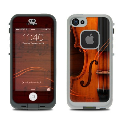 Lifeproof iPhone 5S Fre Case Skin - Violin