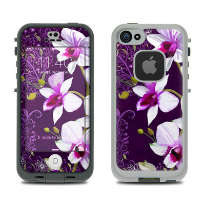 LifeProof iPhone 5S Fre Case Skin - Violet Worlds
