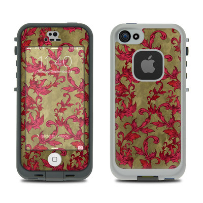 LifeProof iPhone 5S Fre Case Skin - Vintage Scarlet