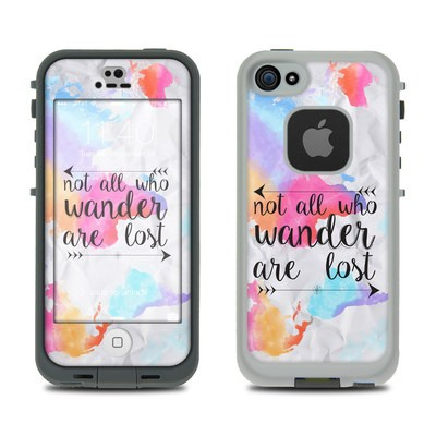 Lifeproof iPhone 5S Fre Case Skin - Wander