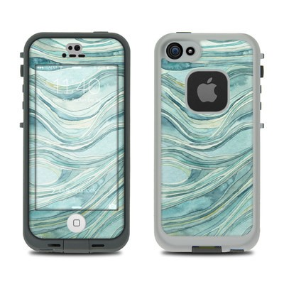 LifeProof iPhone 5S Fre Case Skin - Waves