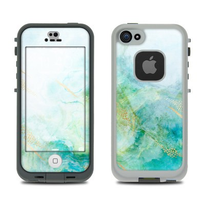Lifeproof iPhone 5S Fre Case Skin - Winter Marble