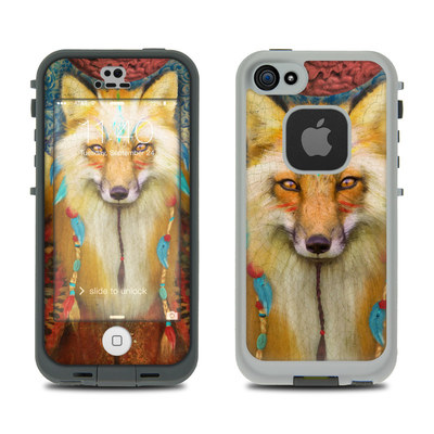 LifeProof iPhone 5S Fre Case Skin - Wise Fox