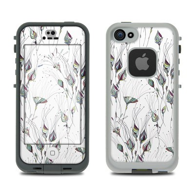 LifeProof iPhone 5S Fre Case Skin - Wildflowers