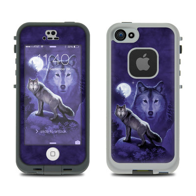 LifeProof iPhone 5S Fre Case Skin - Wolf