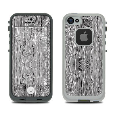 Lifeproof iPhone 5S Fre Case Skin - Woodgrain