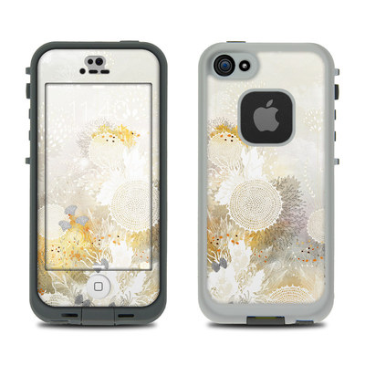 LifeProof iPhone 5S Fre Case Skin - White Velvet