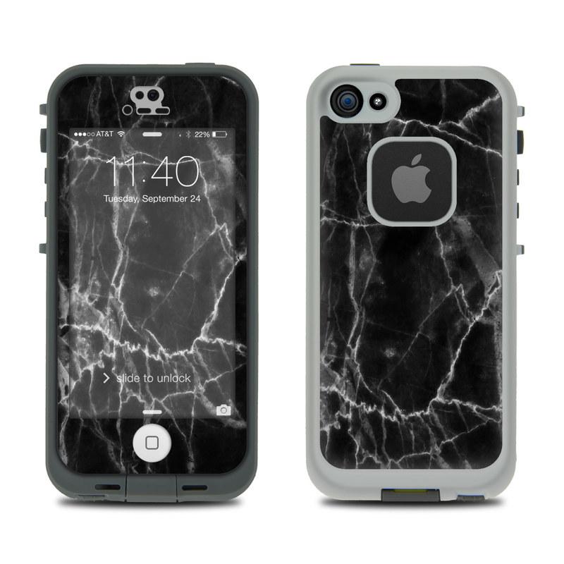 separation shoes c748d c4ba3 Lifeproof iPhone 5S Fre Case Skin - Black Marble