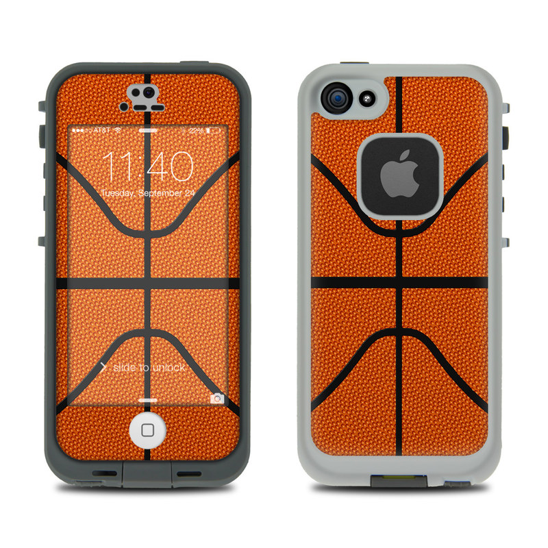 more photos 60621 79ec1 LifeProof iPhone 5S Fre Case Skin - Basketball