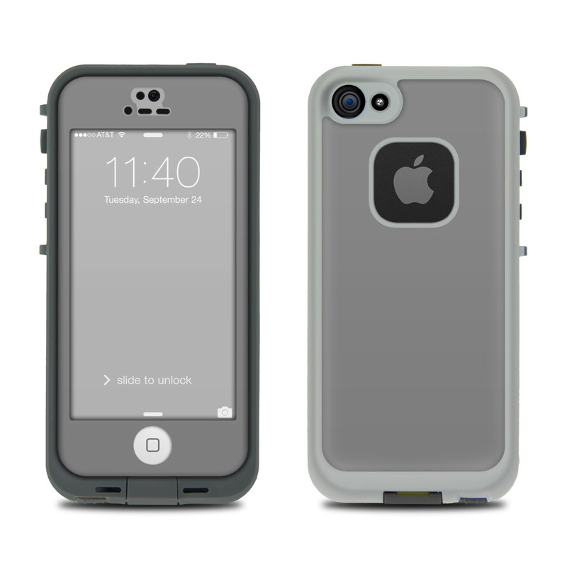 separation shoes fc8cd f5cf4 LifeProof iPhone 5S Fre Case Skin - Solid State Grey