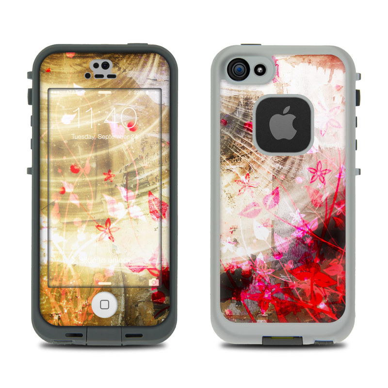 iphone 5s lifeproof cases lifeproof iphone 5s fre skin woodflower by lucent 1524