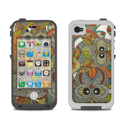 Lifeproof iPhone 4 Case Skin - 4 owls
