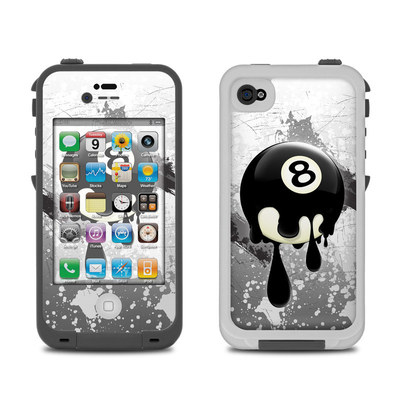 Lifeproof iPhone 4 Case Skin - 8Ball