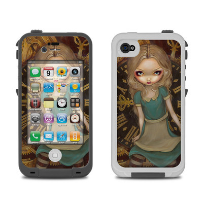 Lifeproof iPhone 4 Case Skin - Alice Clockwork