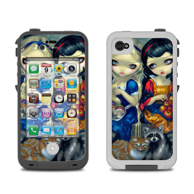 Lifeproof iPhone 4 Case Skin - Alice & Snow White