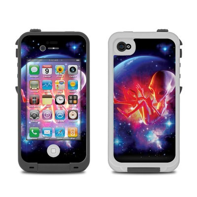 Lifeproof iPhone 4 Case Skin - Alien Embryo