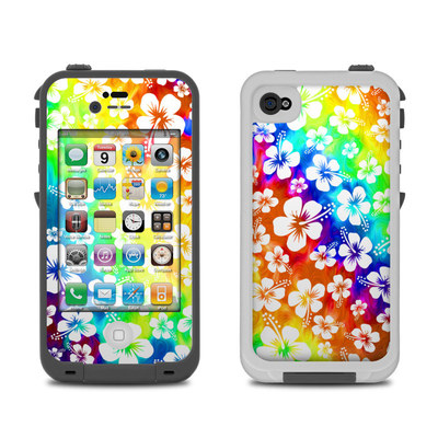 Lifeproof iPhone 4 Case Skin - Aloha Swirl