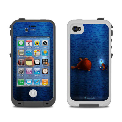 Lifeproof iPhone 4 Case Skin - Angler Fish