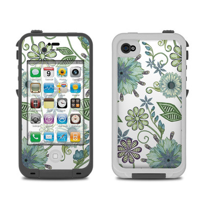 Lifeproof iPhone 4 Case Skin - Antique Nouveau