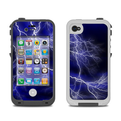 Lifeproof iPhone 4 Case Skin - Apocalypse Blue