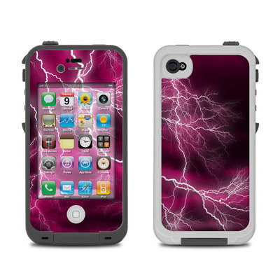 Lifeproof iPhone 4 Case Skin - Apocalypse Pink