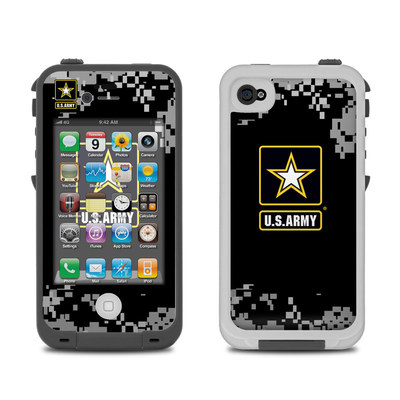 Lifeproof iPhone 4 Case Skin - Army Pride