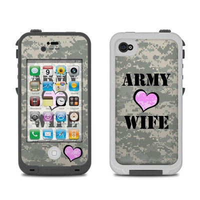 Lifeproof iPhone 4 Case Skin - Army Wife