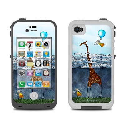 Lifeproof iPhone 4 Case Skin - Above The Clouds