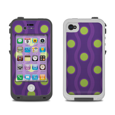 Lifeproof iPhone 4 Case Skin - Atomic