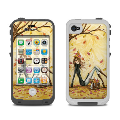 Lifeproof iPhone 4 Case Skin - Autumn Leaves