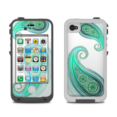 Lifeproof iPhone 4 Case Skin - Azure