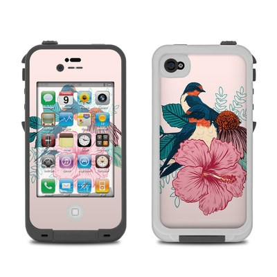 Lifeproof iPhone 4 Case Skin - Barn Swallows
