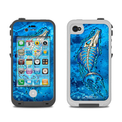 Lifeproof iPhone 4 Case Skin - Barracuda Bones
