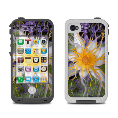Lifeproof iPhone 4 Case Skin - Bali Dream Flower