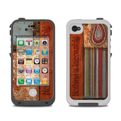 Lifeproof iPhone 4 Case Skin - Be Inspired
