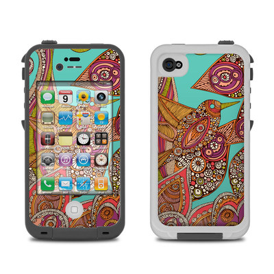 Lifeproof iPhone 4 Case Skin - Bird In Paradise