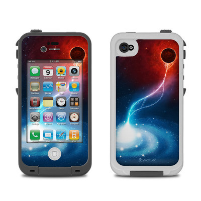 Lifeproof iPhone 4 Case Skin - Black Hole