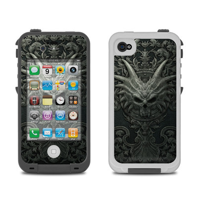 Lifeproof iPhone 4 Case Skin - Black Book