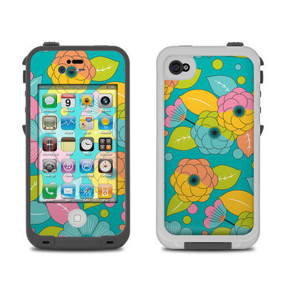 Lifeproof iPhone 4 Case Skin - Blossoms