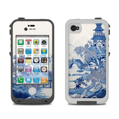 Lifeproof iPhone 4 Case Skin - Blue Willow